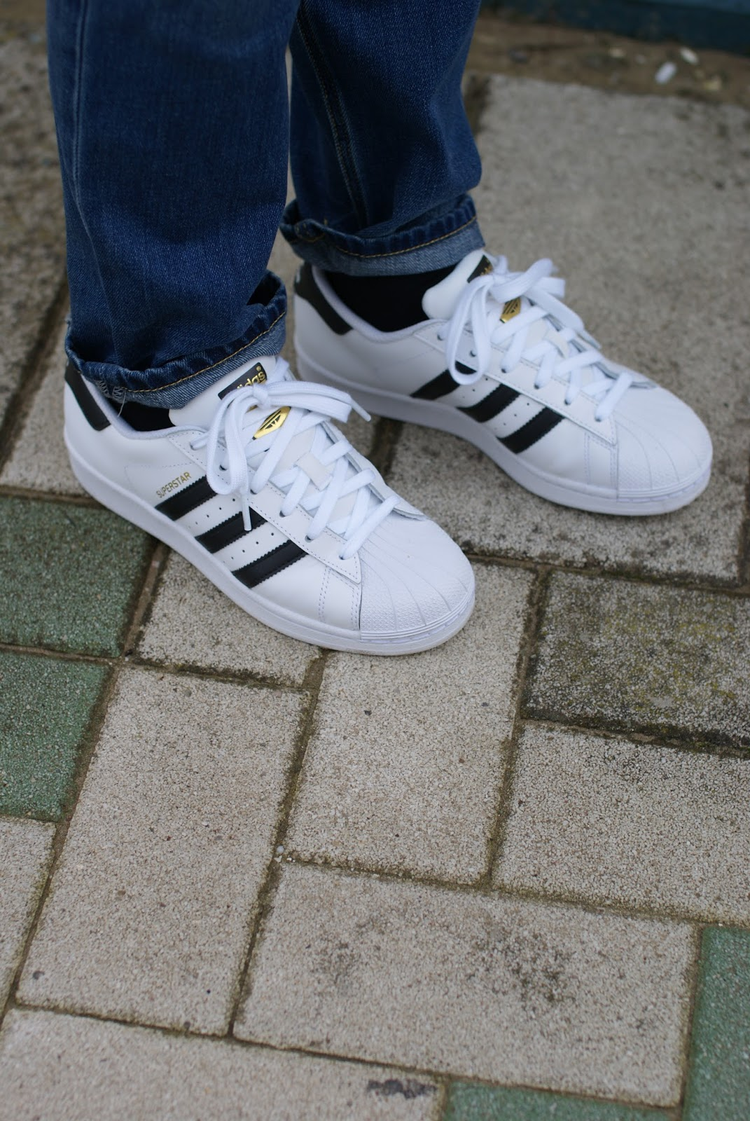 Adidas Superstar sneakers on Fashion and Cookies fashion blog, fashion blogger style