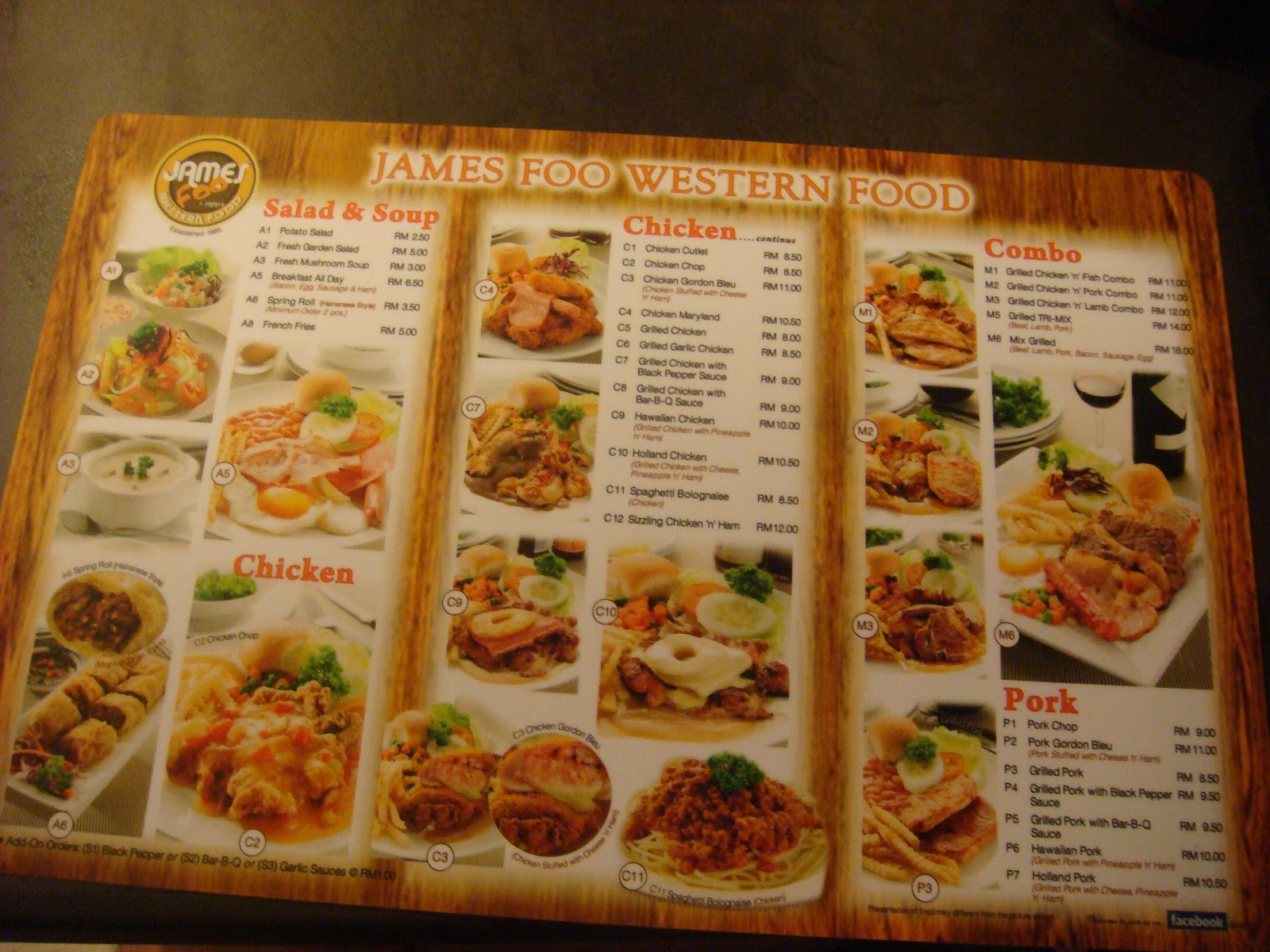 James Foo Western Food All Seasons Place Bandar Baru Air