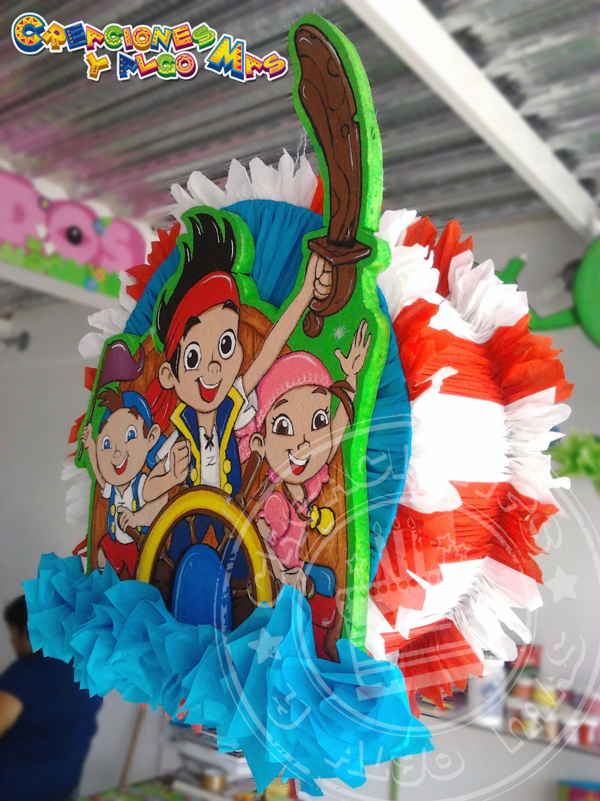 MuyAmeno.com: Tortas de Piratas para Fiestas Infantiles