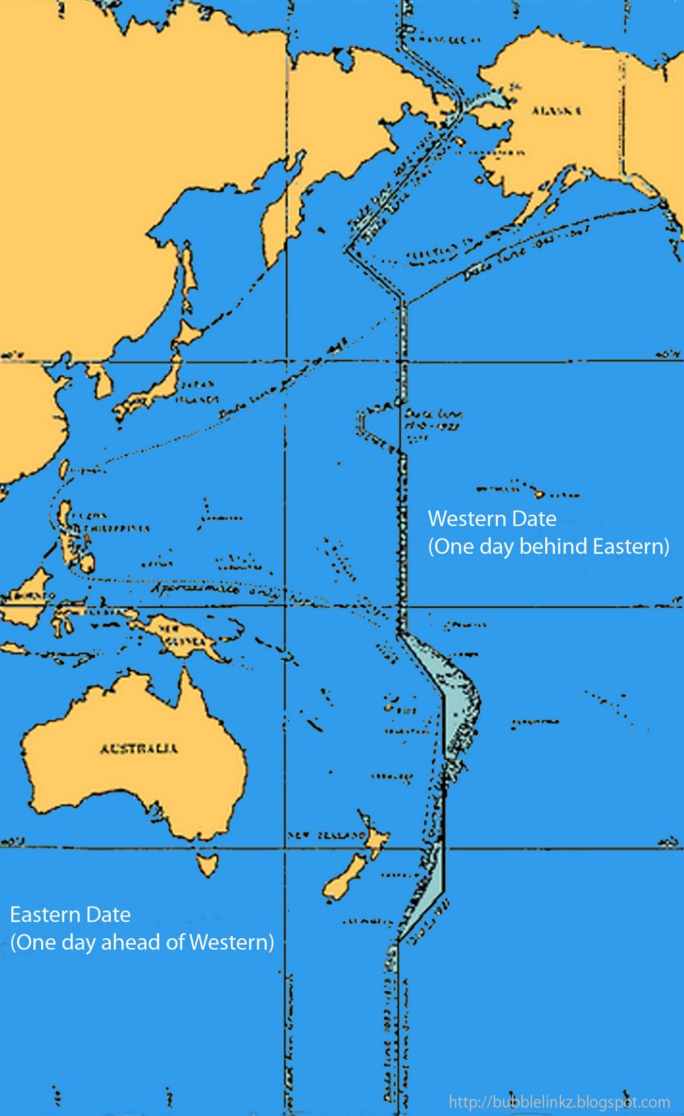 Date Line - usually called the