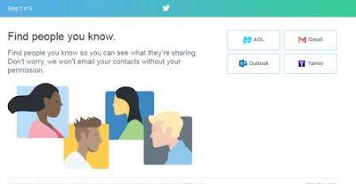 Cara Membuat Twitter dengan Panduan Gambar
