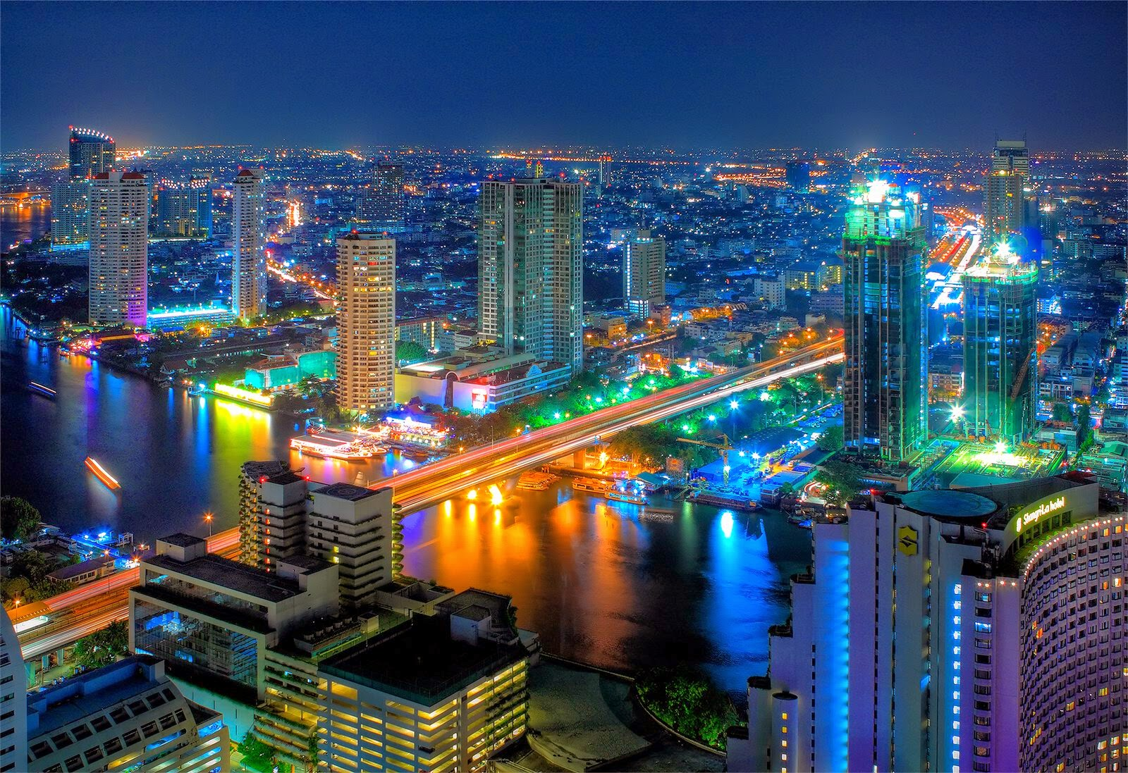 Cities of the world wallpapers hd part 10 bangkok milan for Thai wallpaper gallery
