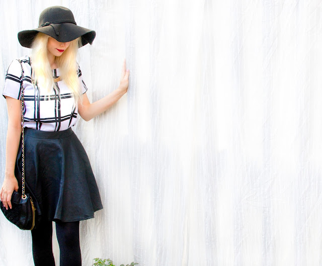 Monochrome outfit of the day ft. Dressgal