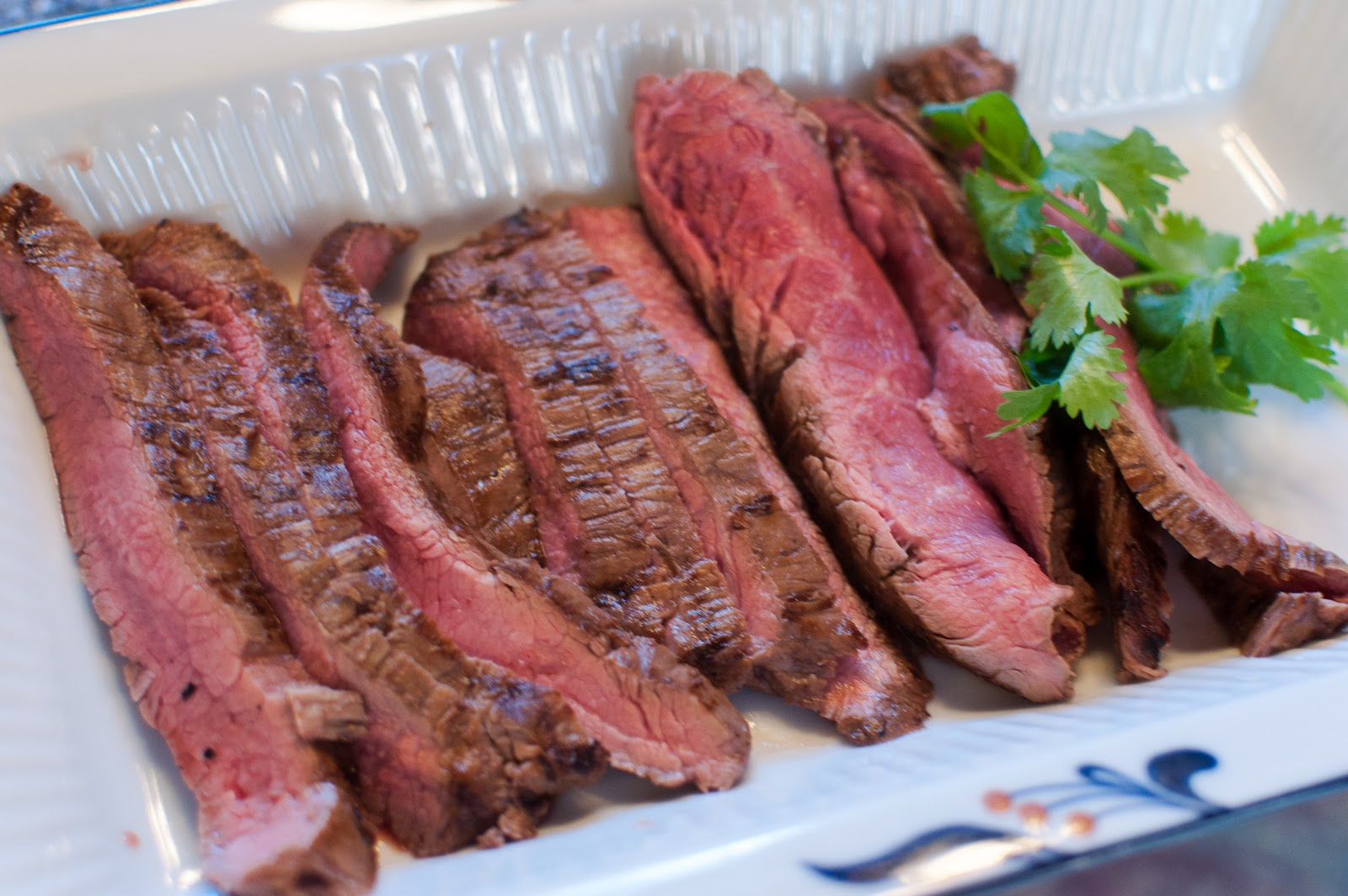 not quite gourmet: Grilled Marinated Flank Steak