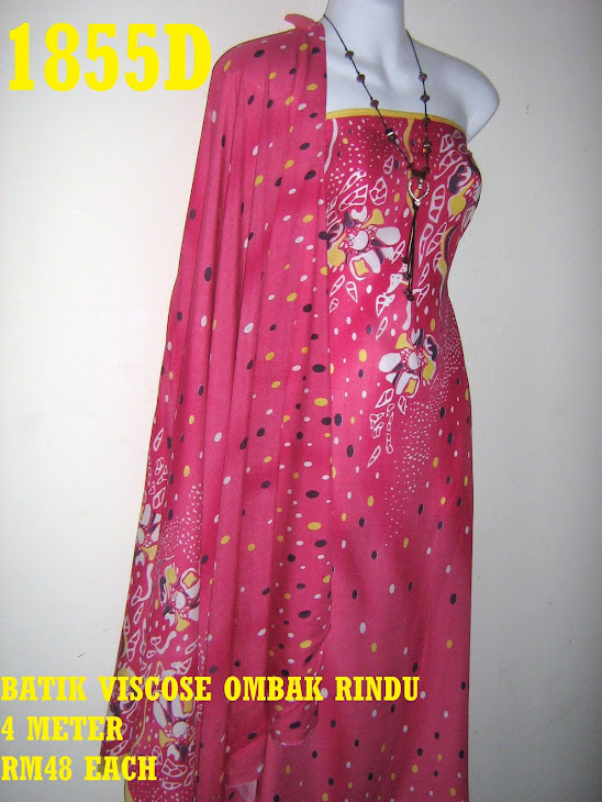 BV 1855D: BATIK VISCOSE EXCLUSIVE OMBAK RINDU, 4 METER