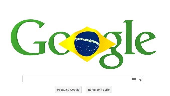 Doodle independência do brasil 2014