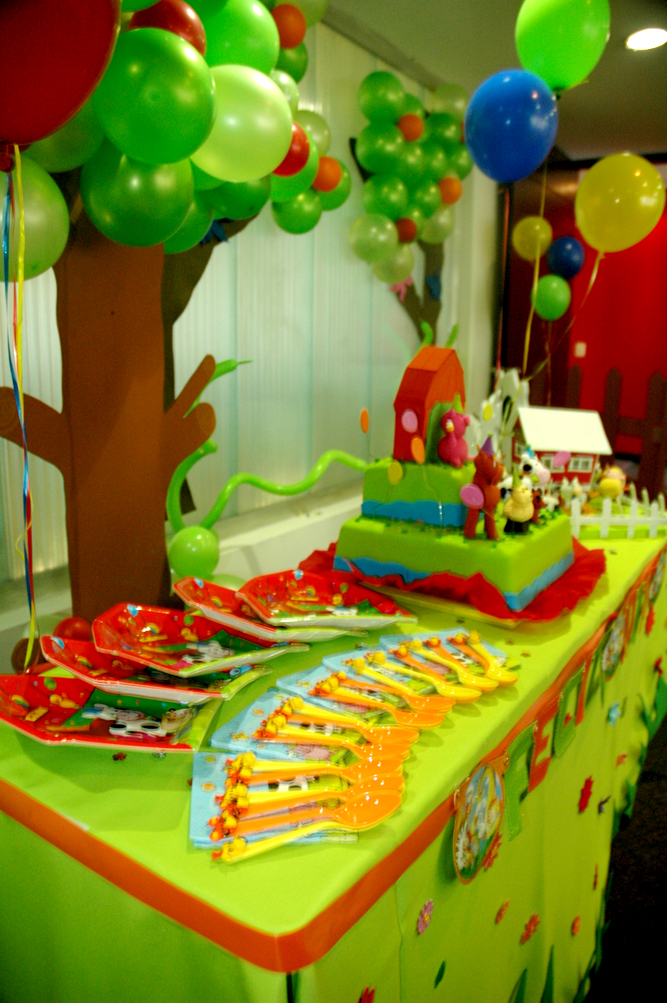 Decoracion Infantil De Granja ~   , decoracion de eventos tematicos e infantiles Fiesta Granja