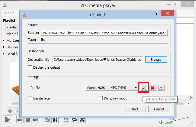 Edit+videos+using+VLC+(Resize,+Cut+and+Convert)