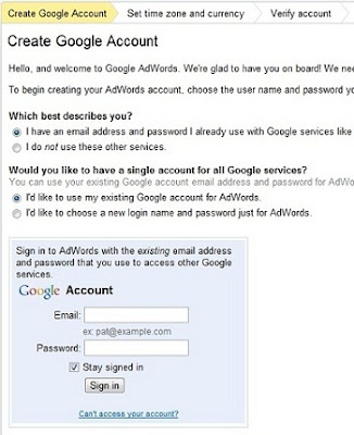 panduan Google Adwords