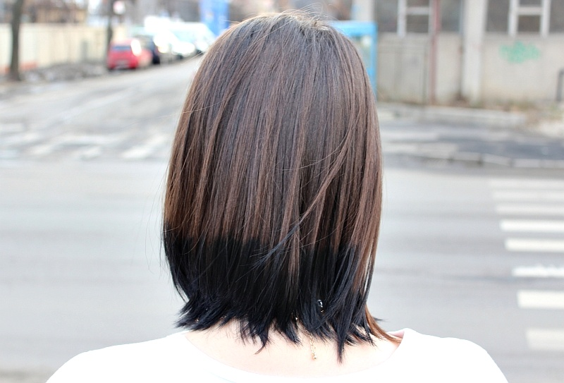 Ombre Hair Dark Brown 131381 Ash Tips 3 In 2018 Pinterest