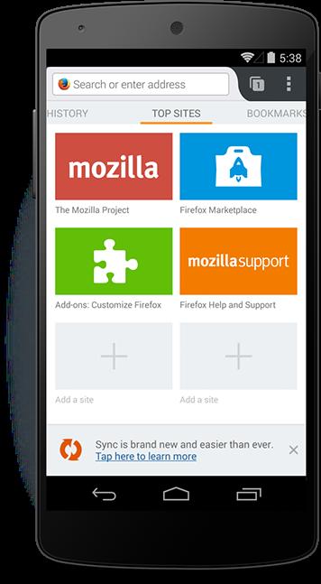 إصدار جديد لمتصفح موزيلا فايرفوكس لويندوز وماك ولينكس وأندرويد Firefox 37