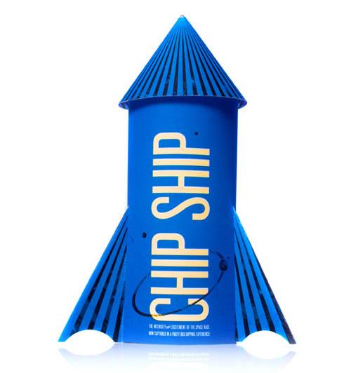 design de embalagem - food packaging design - Chip Ship