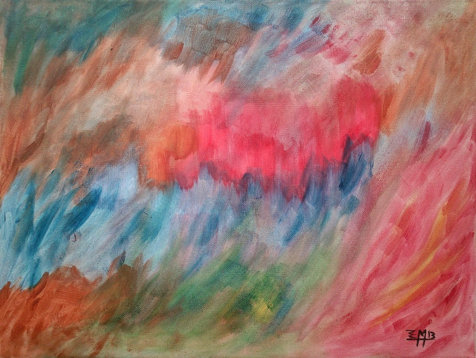 elias monsalve©Expresionismo Abstracto - Regale Arte - Obras a medida y gusto del cliente - Contácteme!