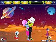 Người ngoài hành tinh hôn nhau, chơi game hon nhau hay