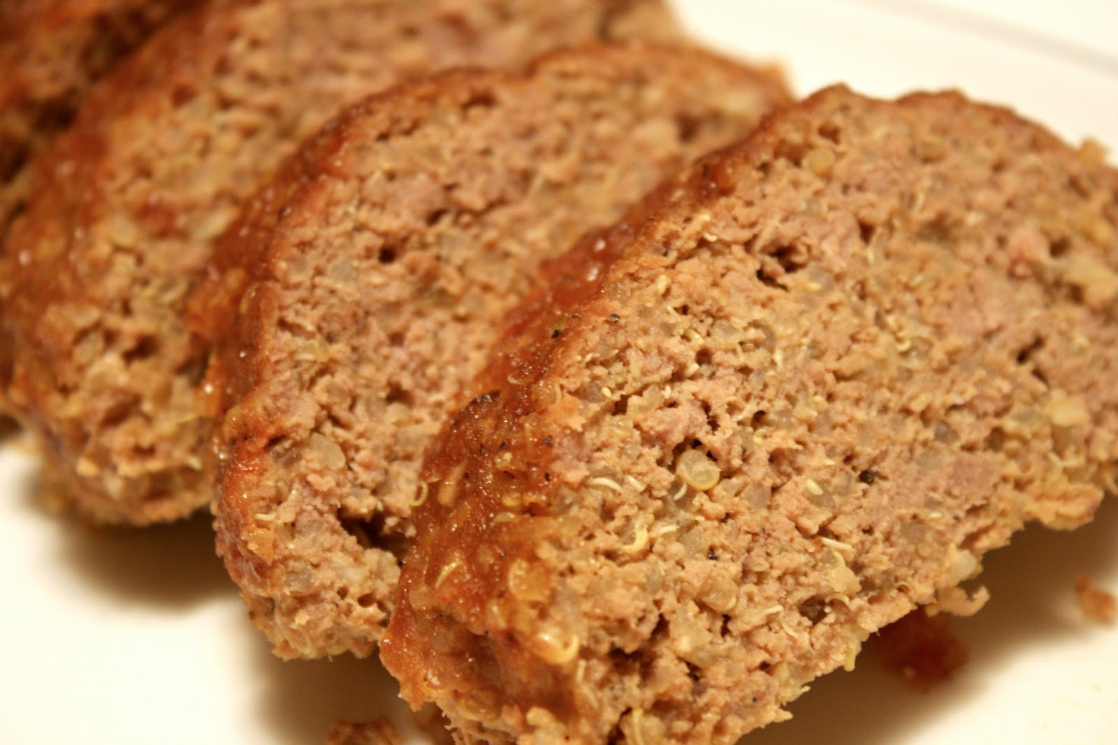 No Gluten, No Problem: Friday Foto: Turkey Quinoa Meatloaf