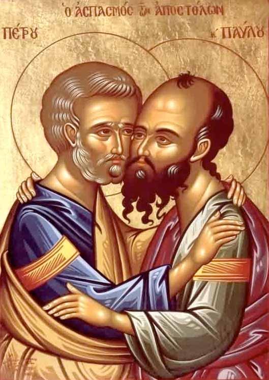 Pierre et Paul dans images sacrée sanpietroepaolo