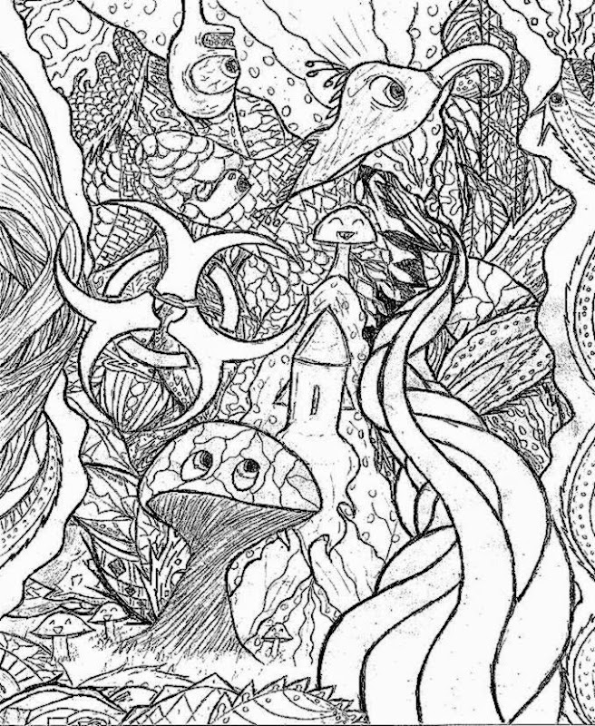 Trippy Coloring Sheets Images Trippy Printable Coloring Pages