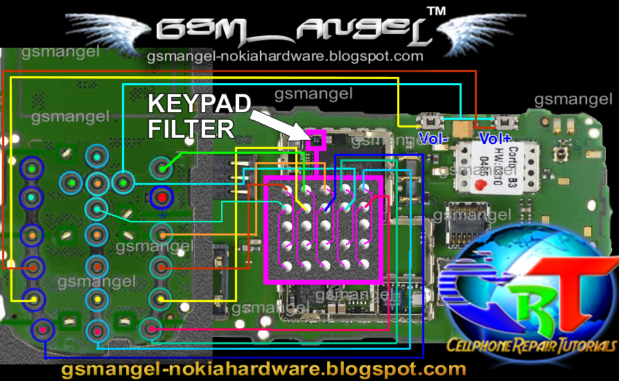 Nokia 6303 keypad ic full jumper solution