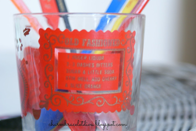 vintage highball glass Old Fashioned recipe