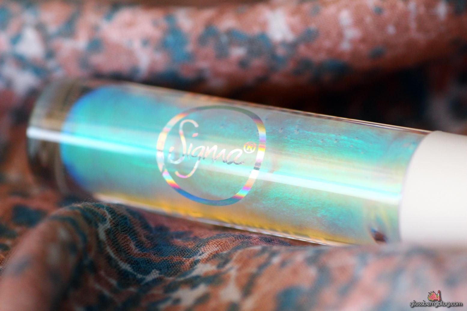 גלוס הולוגרפי סיגמא סימגא כחול ירוק סגול מחליף צבעים סקירה המלצה holographic gloss other wordly sigma lip switch review swatches