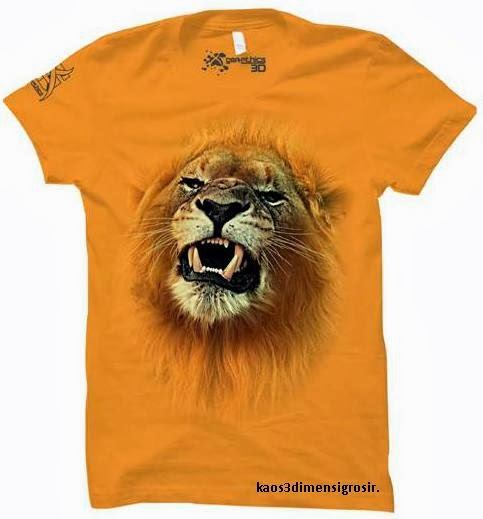 kaos 3d lion roar