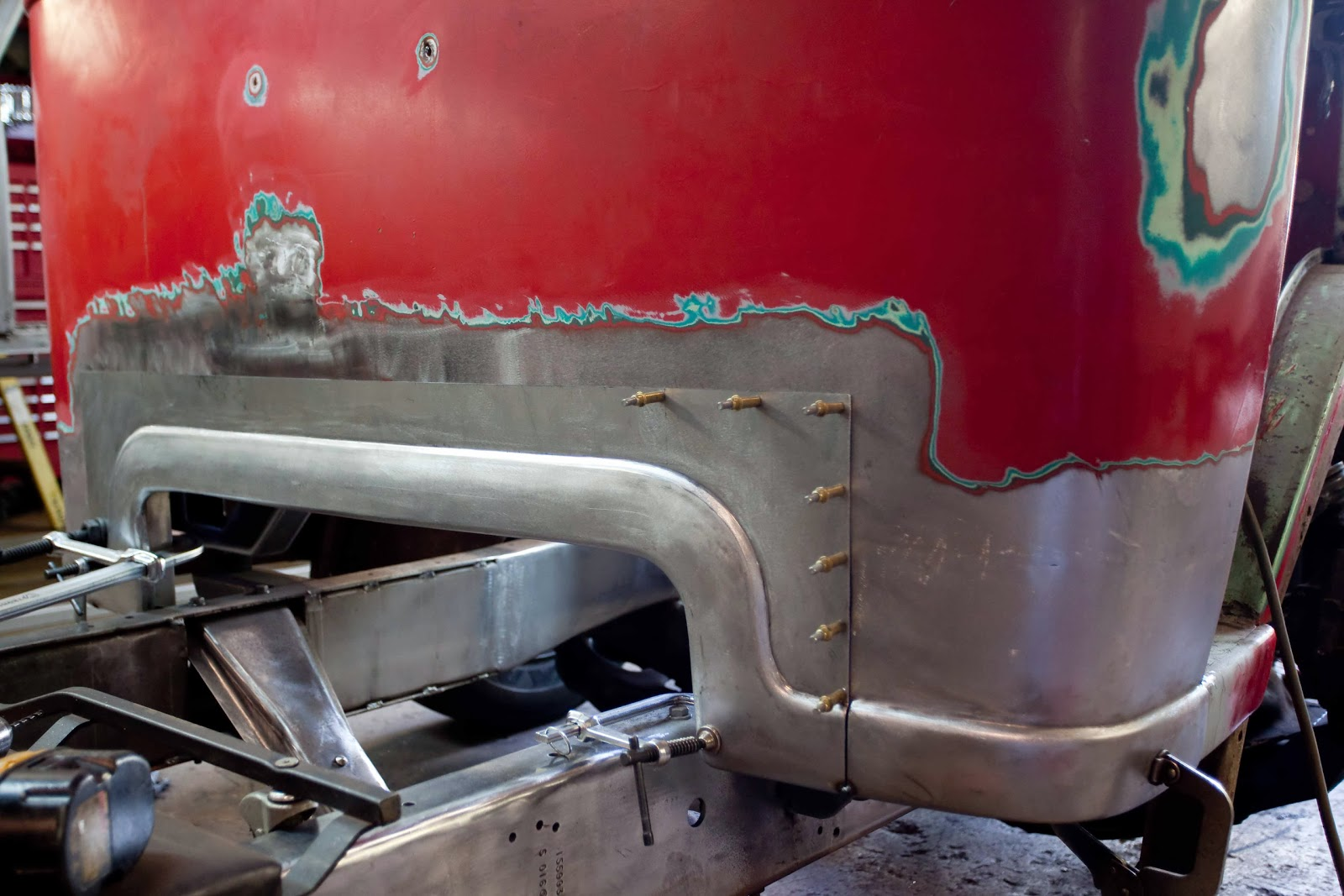 New Twist on a 1947 Ford COE: Some Minor Fixes