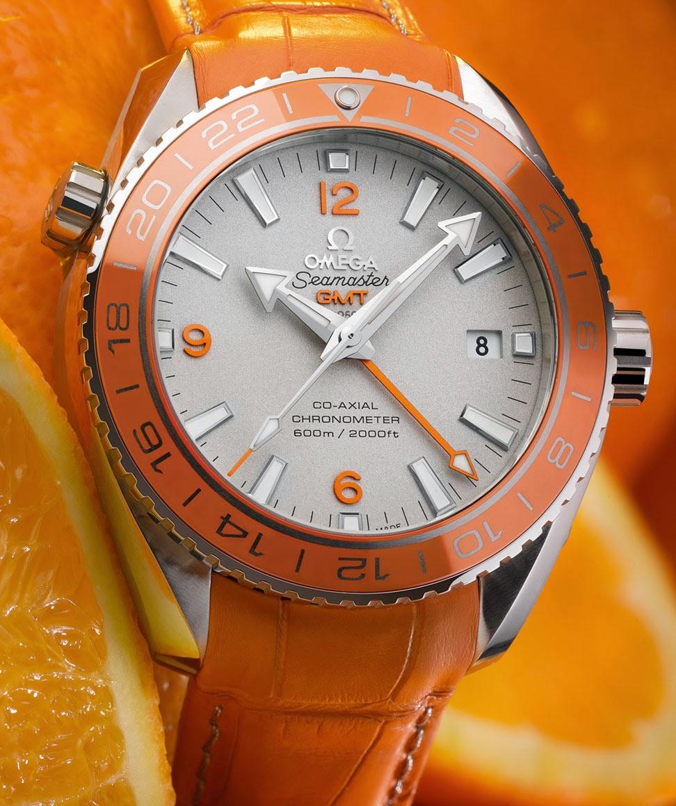 Omega Seamaster Planet Ocean Orange Ceramic Time And