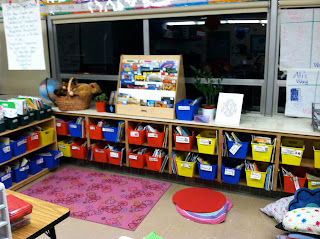 photo of classroom photo Teaching With Style organization 3rd grade classroom library