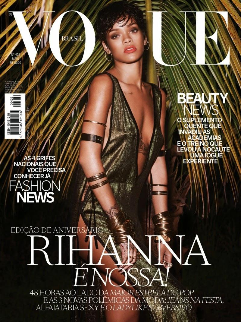 Rihanna x VOGUE BRAZIL