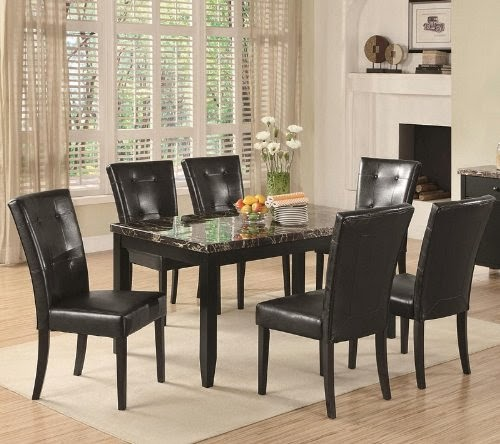 7 piece parson dining set anisa