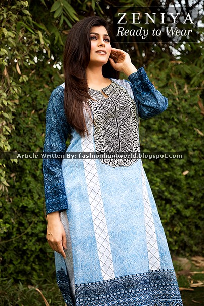ZENIYA - R2W Lawn 2015 For Spring Summer