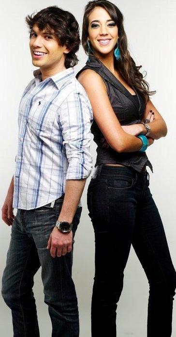 Sesión de foto de Chiara Pinasco con su hermano Bruno Pinasco
