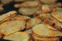 Parmesan Baked Potato Crisps