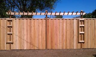 Деревянный забор. Фото 49