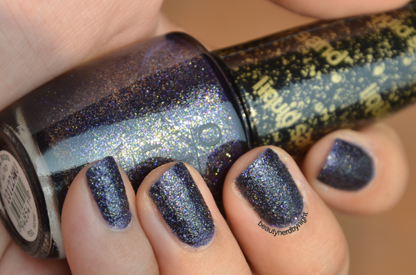 Swatch of OPI Alcatraz... Rocks
