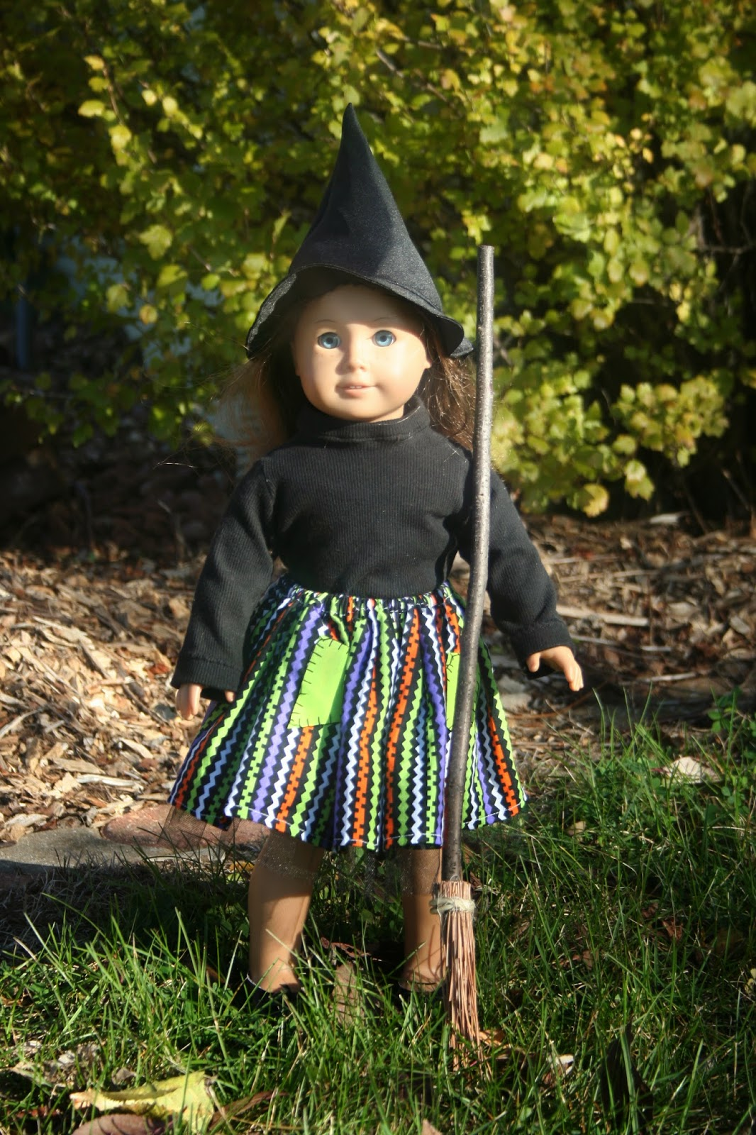 Arts and Crafts for your American Girl Doll: Witch costume for ...