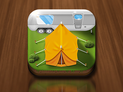 Camping App Icon