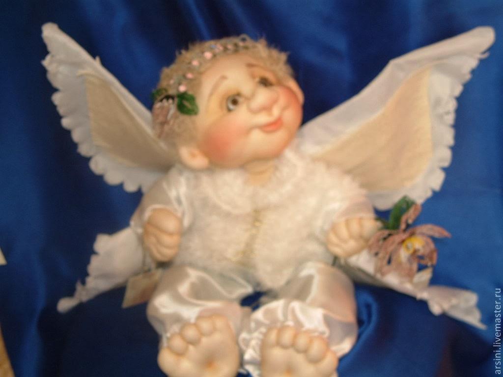 Ангелочки мастер класс видео