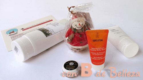 Caja natural Essentiabox de Diciembre