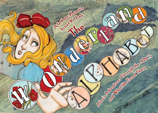The Wonderland Alphabet book, Alice, children's