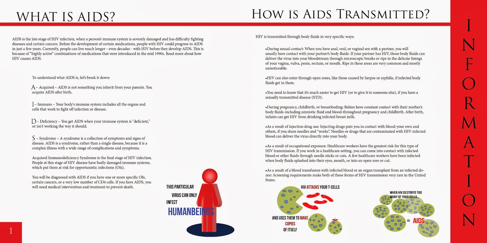 understanding how one gets infected with hiv and develops to aids Get the facts on hiv and aids in this how are hiv/aids diagnosed someone can be infected with hiv vaccines that one day might help to prevent hiv.