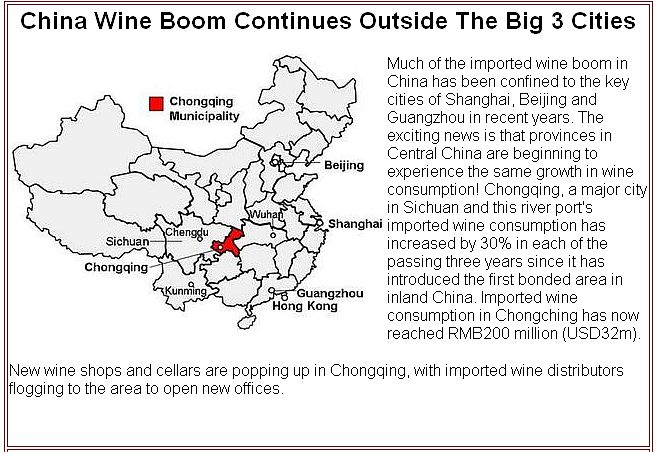 wine consumption in china Despite growing imports of foreign wines, a new vinexpo report says that china's overall consumption decreased again in 2015 as economic slowdown continues.