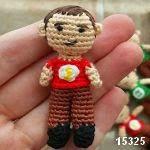 patron gratis Sheldon amigurumi, free amigurumi pattern Sheldon doll