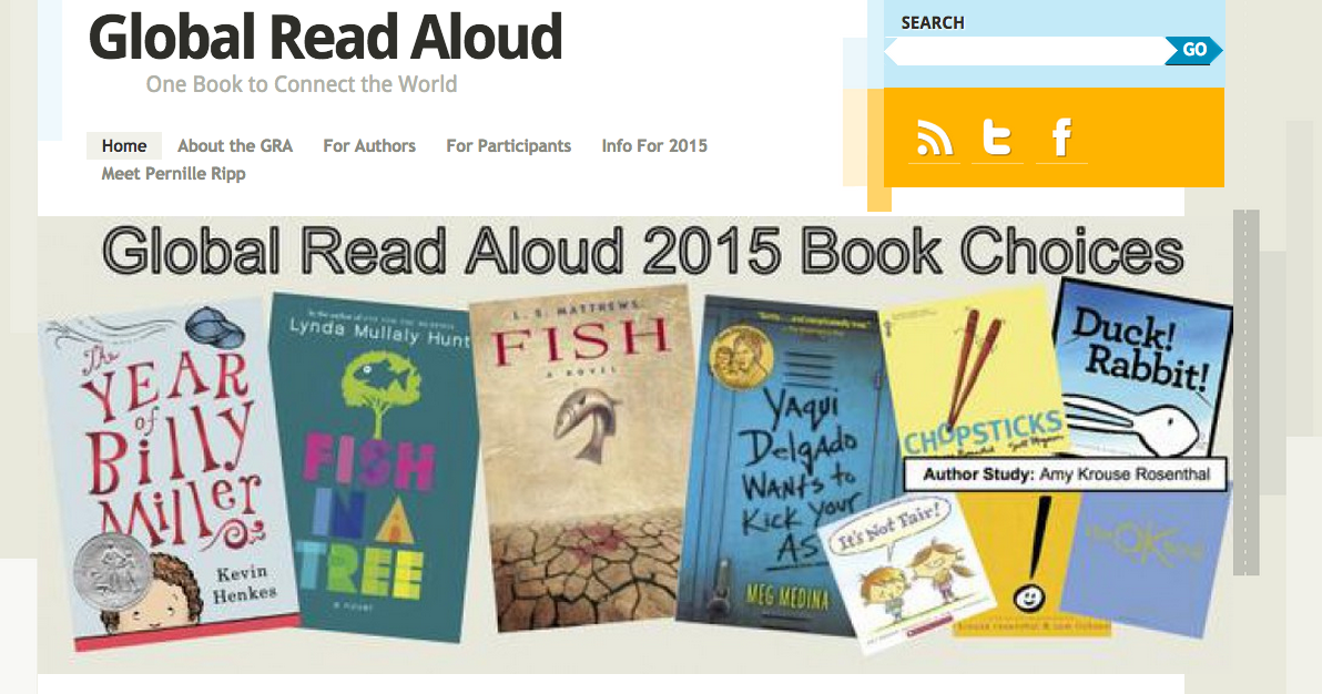 Pernilla 39 s english classroom global read aloud looking for One fish two fish read aloud