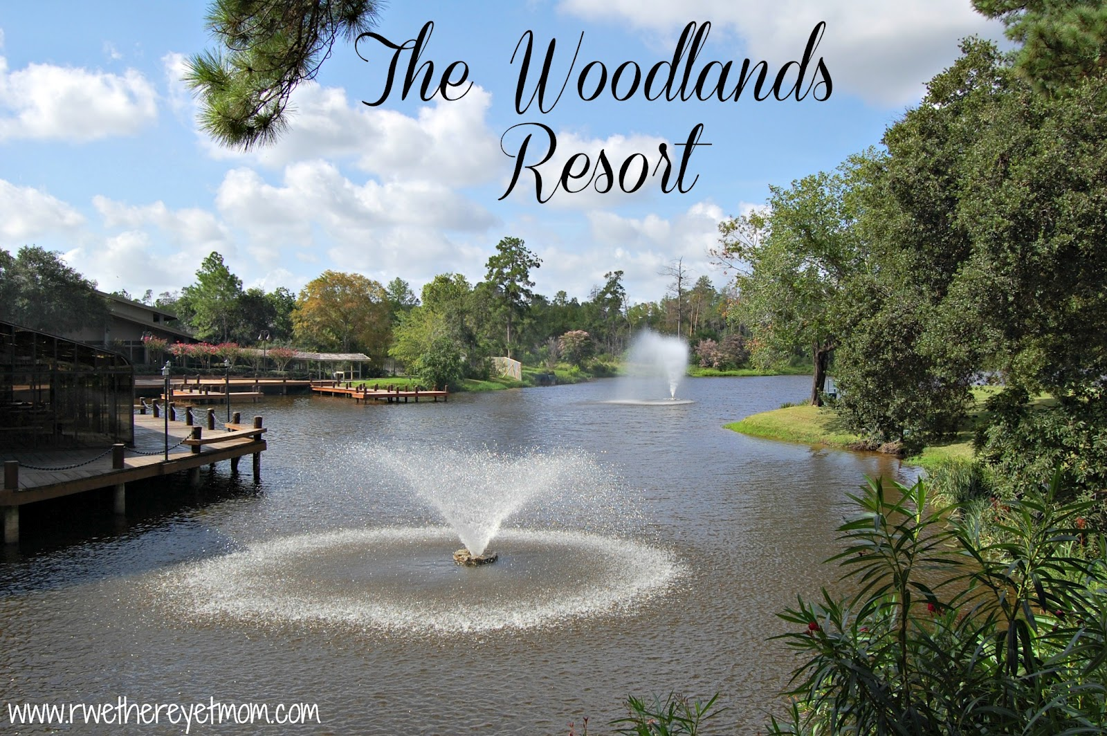 The woodlands resort the woodlands texas r we there for Texas spas and resorts