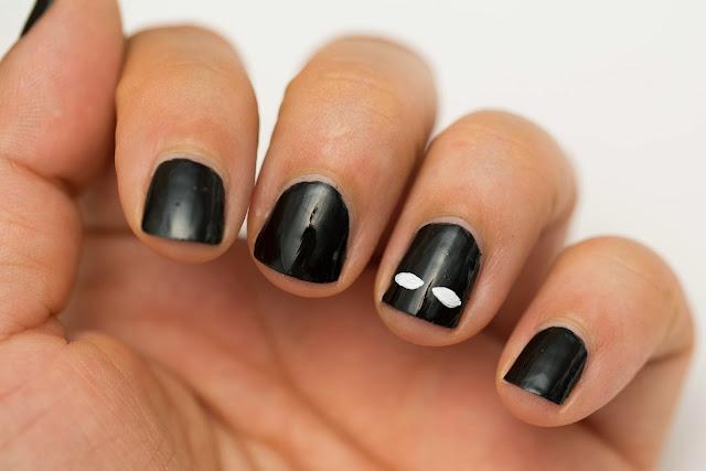 Easy Halloween Nail Art For Short Nails : Beauty by arielle quick and easy halloween nail art for short nails