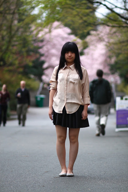 Yanqing Shi University of Washington Seattle street style fashion it's my darlin'