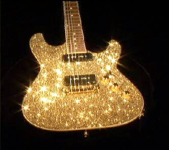 guitarra de diamantes