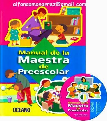 Libro y cd rom manual de la maestra de preescolar competencias