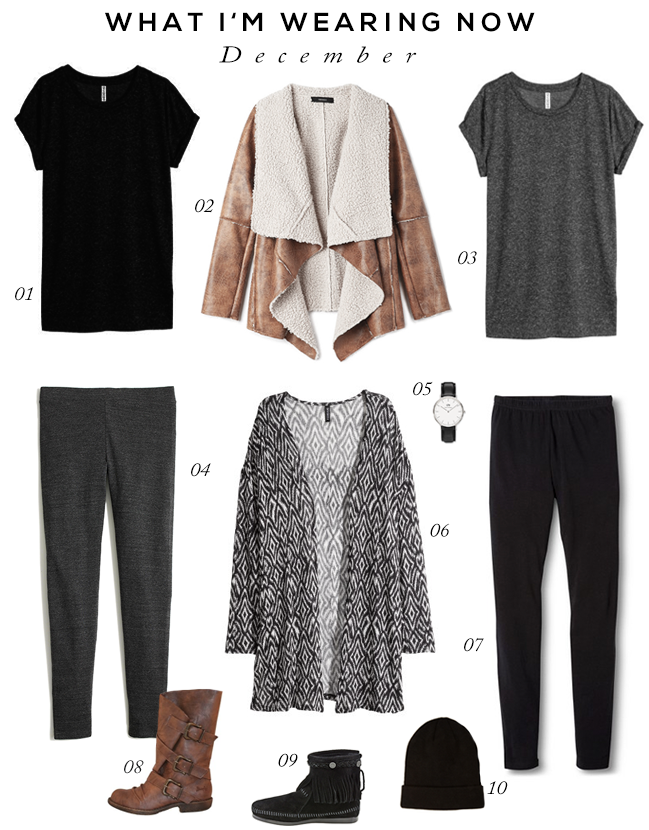 What I'm Wearing Now: December (via Bubby and Bean)